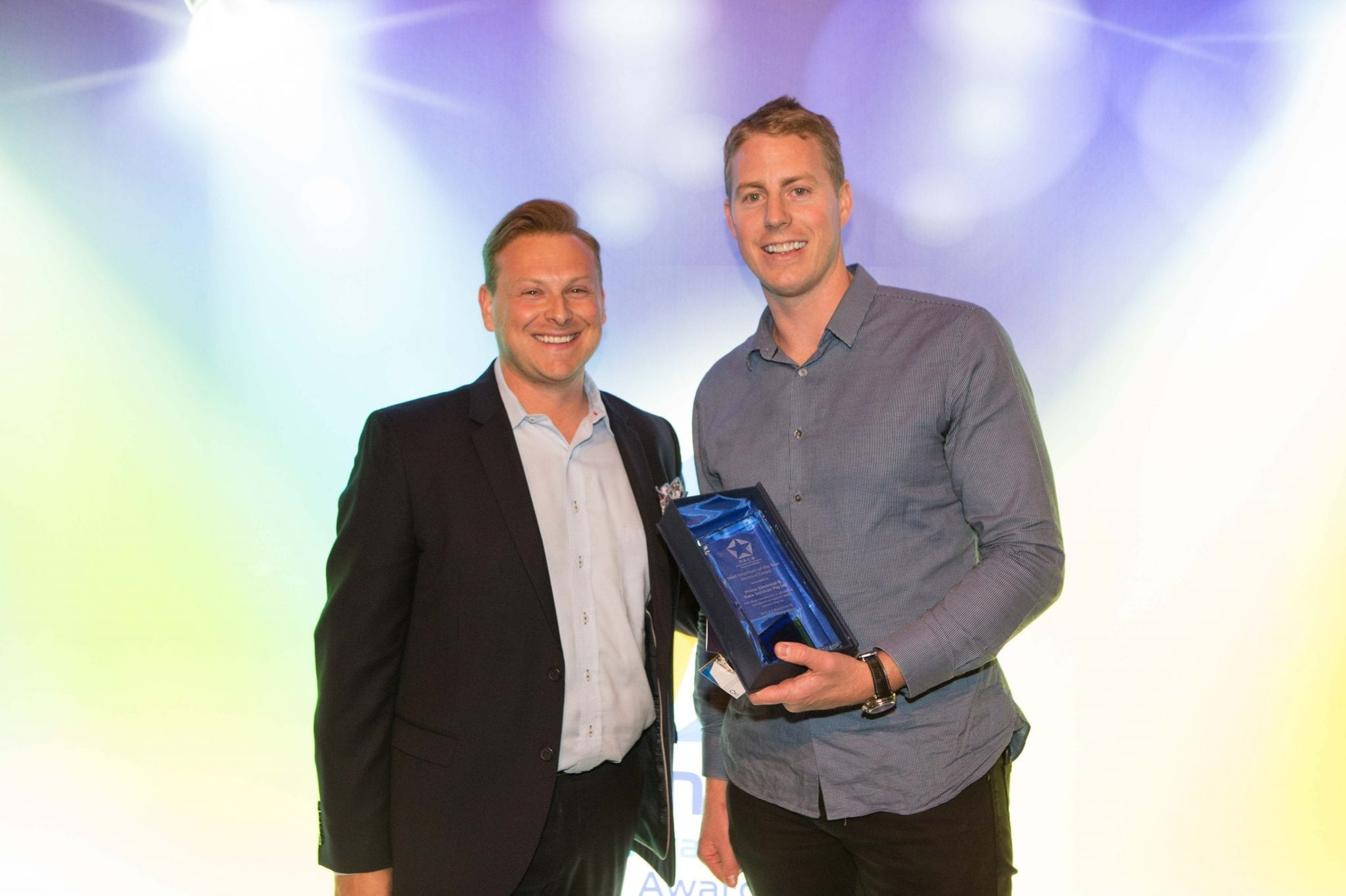 Daniel Tentser with David from Prime