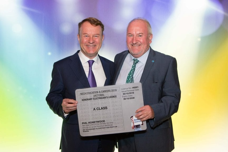 Phil Honeywood and Steve Herbert, Chairman