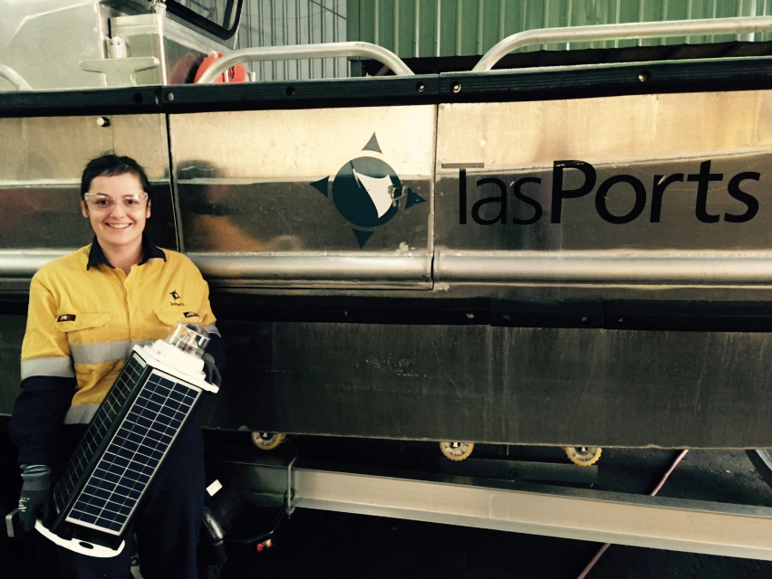 Cordelia Nash, NECA Education & Careers Electrical Apprentice placed with Tas Ports