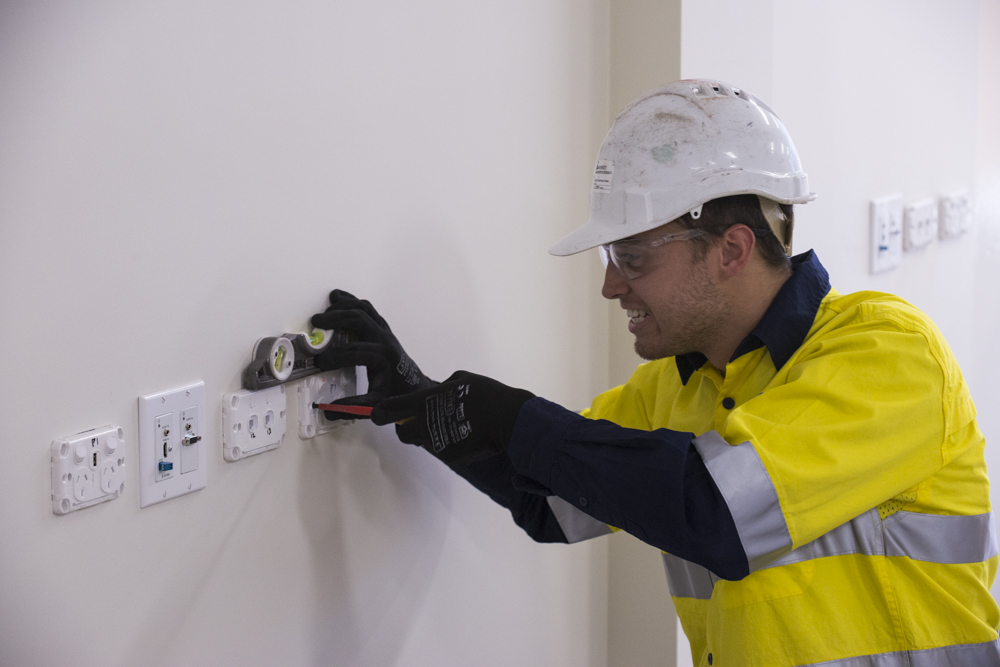 Electrician at Work